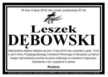 Leszek Dębowski