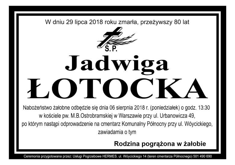 Jadwiga Łotocka