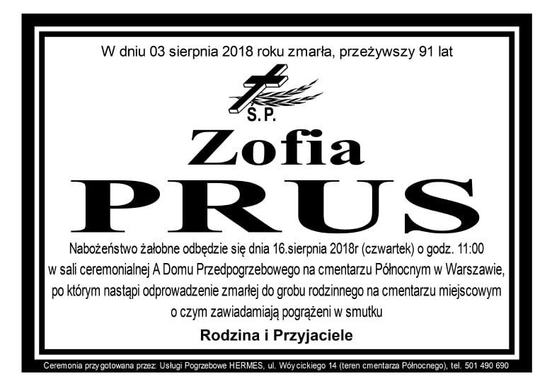 Zofia Prus