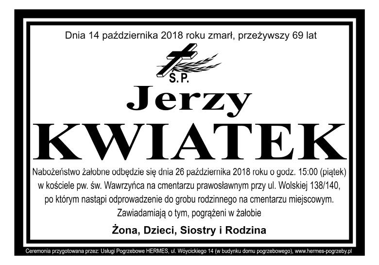 Jerzy Kwiatek