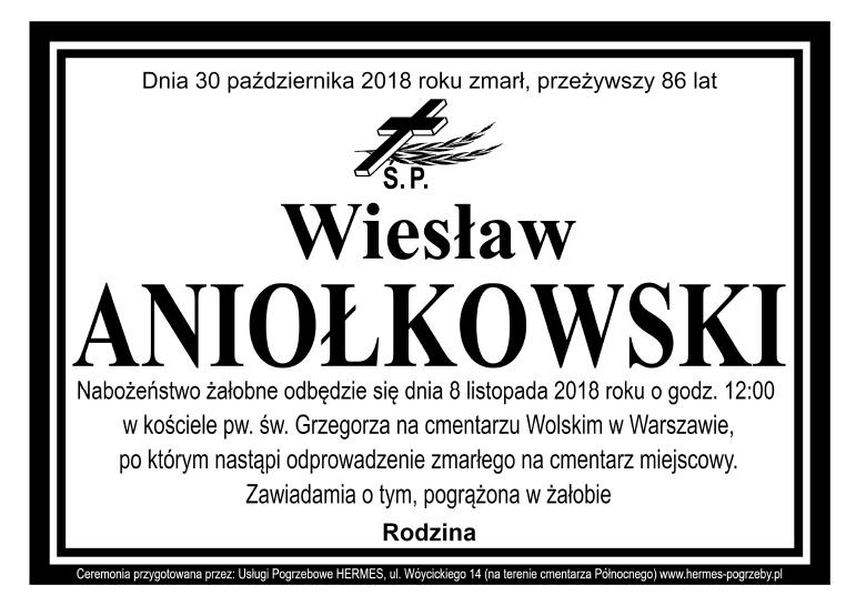 Wiesław Aniołkowski