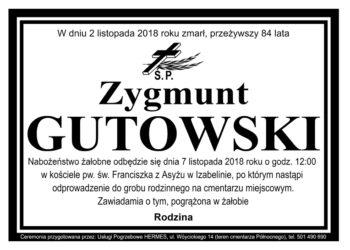 Zygmunt Gutowski