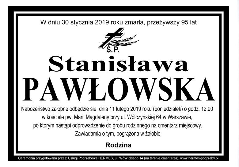 Stanisława Pawłowska